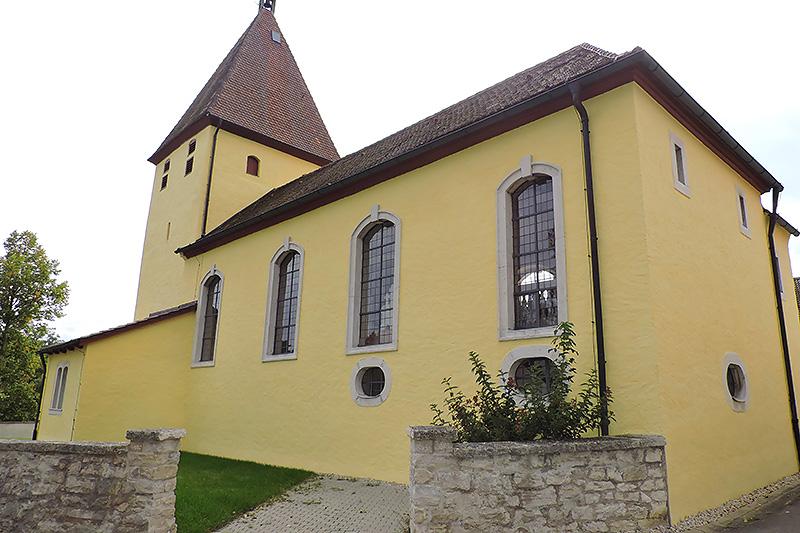 Denkmalgerechte Sanierung – Kirche in Dietfurt